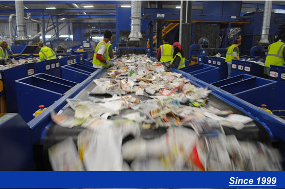 WASTE SORTING PLANT PICTURE